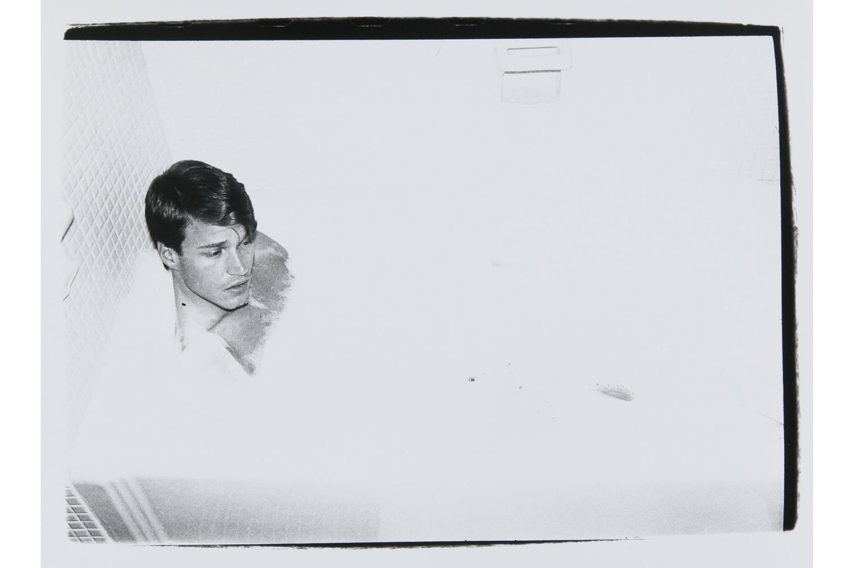 Jed Johnson in Bathtub, 1980