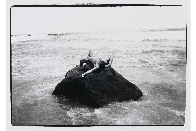 John Gould in Sea, 1982