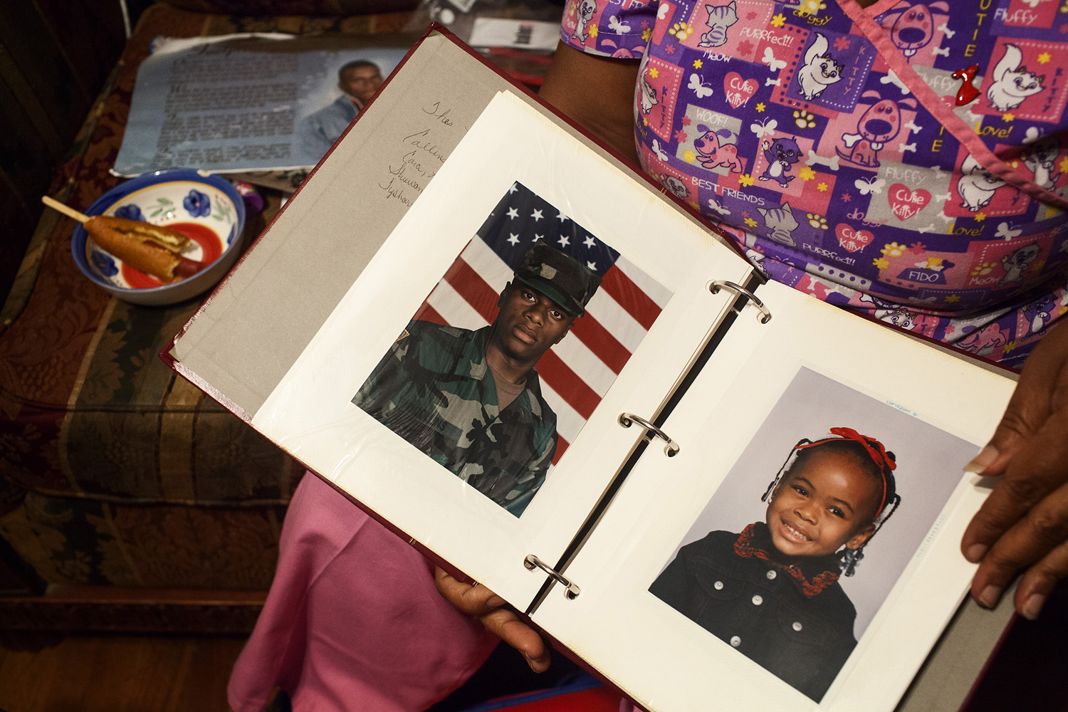 Kentrell served in the U.S. Army for several years after high school. He said he was out to a select few other service members who he knew to be gay as well.