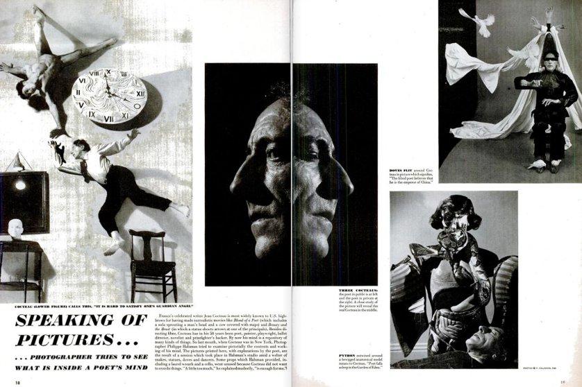 Jean Cocteau, LIFE magazine, Feb. 7, 1949.
