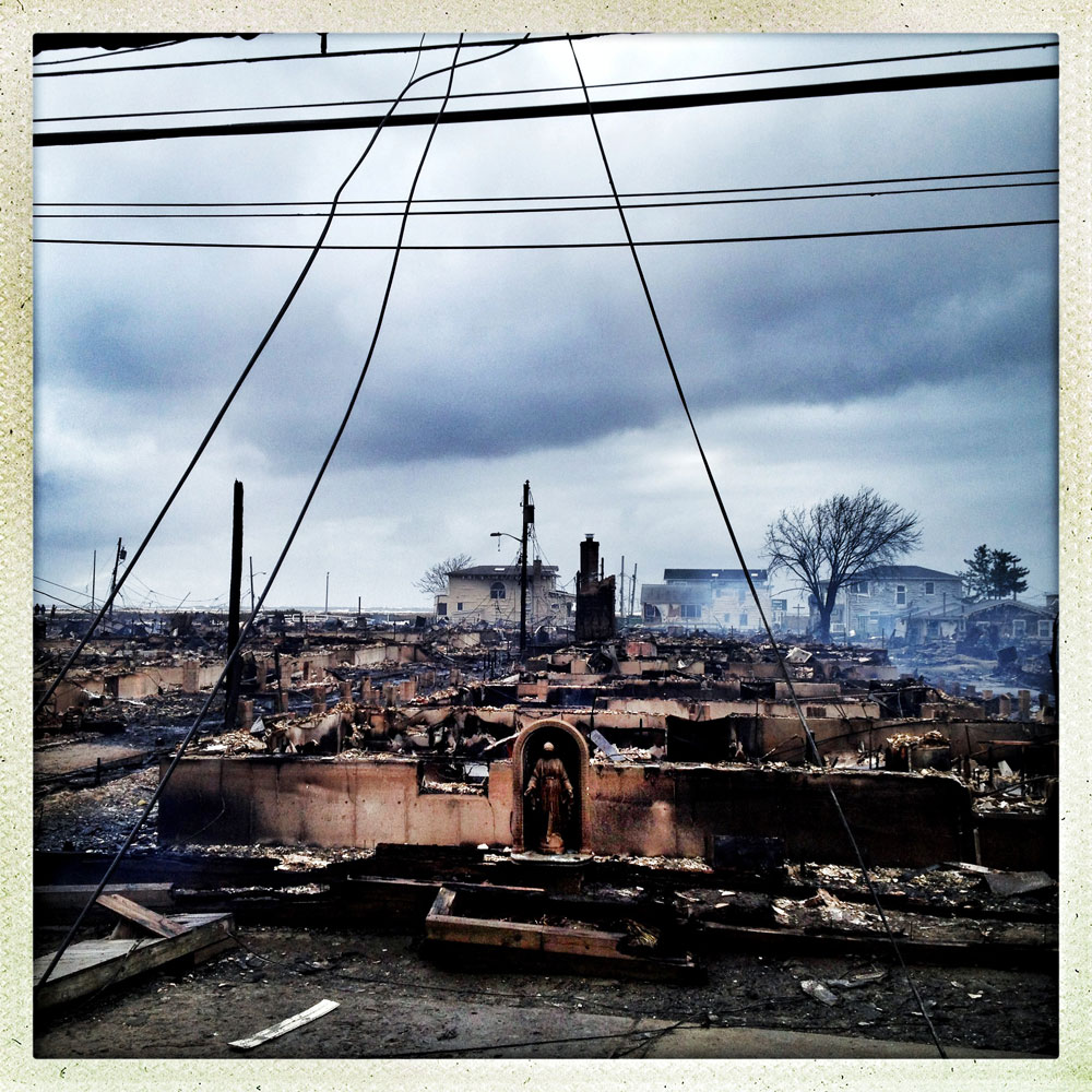 The destruction in Breezy Point following the fire and storm surge, Queens, N.Y., Oct. 30, 2012
