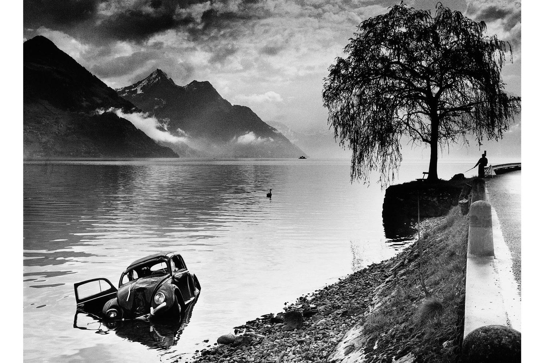Book. Karambolage, by Arnold Odermatt. Steidl. Fall 2013. Pictured: Buochs, 1965.
