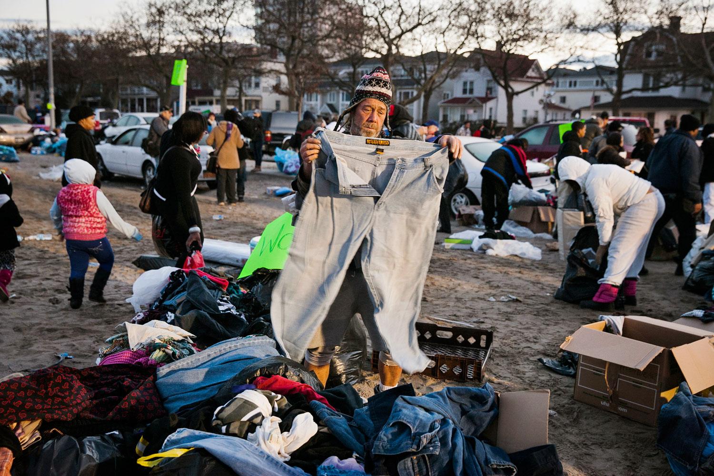 Donations                               Queens, N.Y., 2012