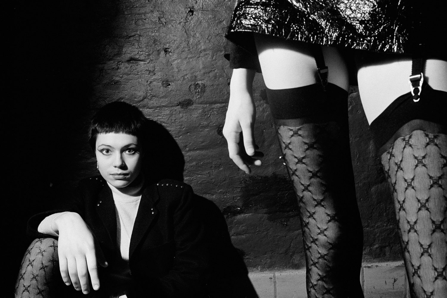 Book. PUNKS, by Karen Knorr & Olivier Richon. GOST Books. Fall 2013. Pictured:Thigh.