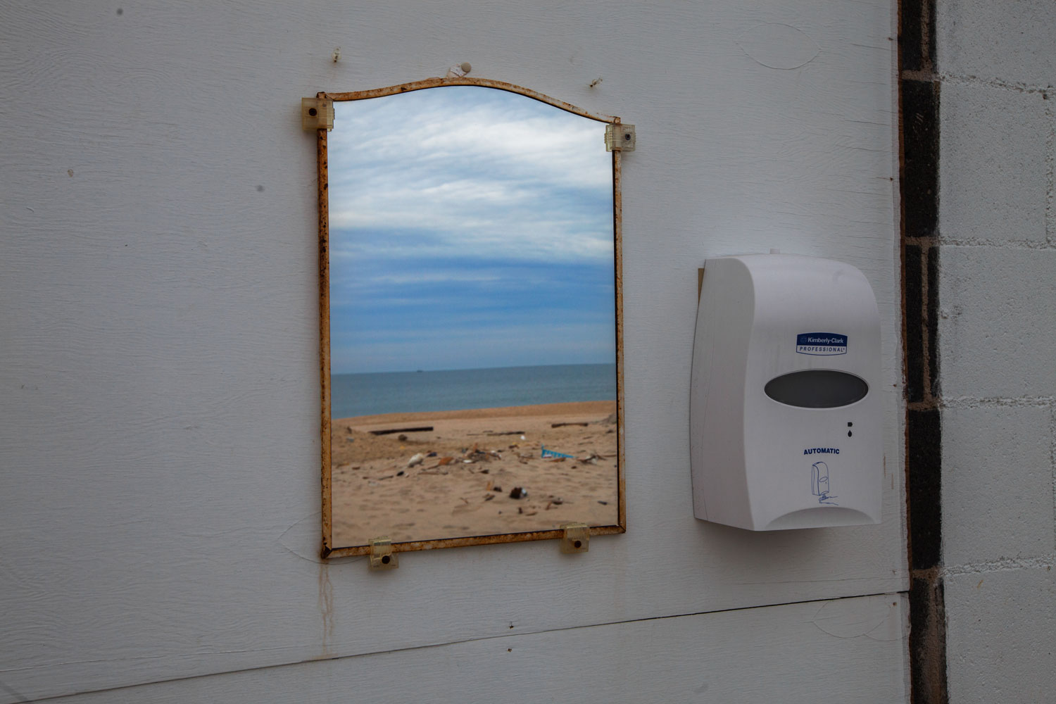 Outdoor Bathroom, Seaside Heights, N.J., Jan. 9, 2013