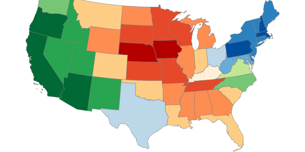 America\'s Mood Map: Find Which State Matches Your ...