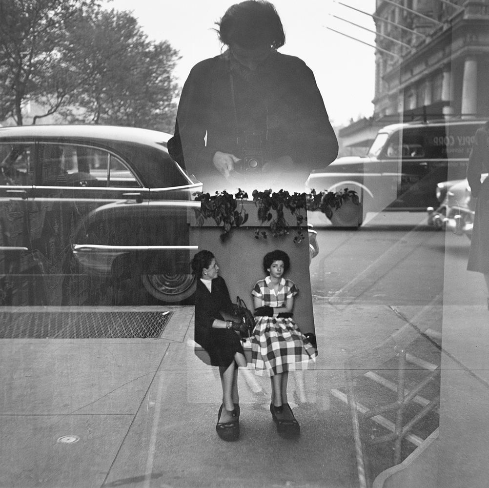 Book. Vivian Maier: Self-Portraits, by powerHouse Books. Fall, 2013. Pictured: Undated, New York.