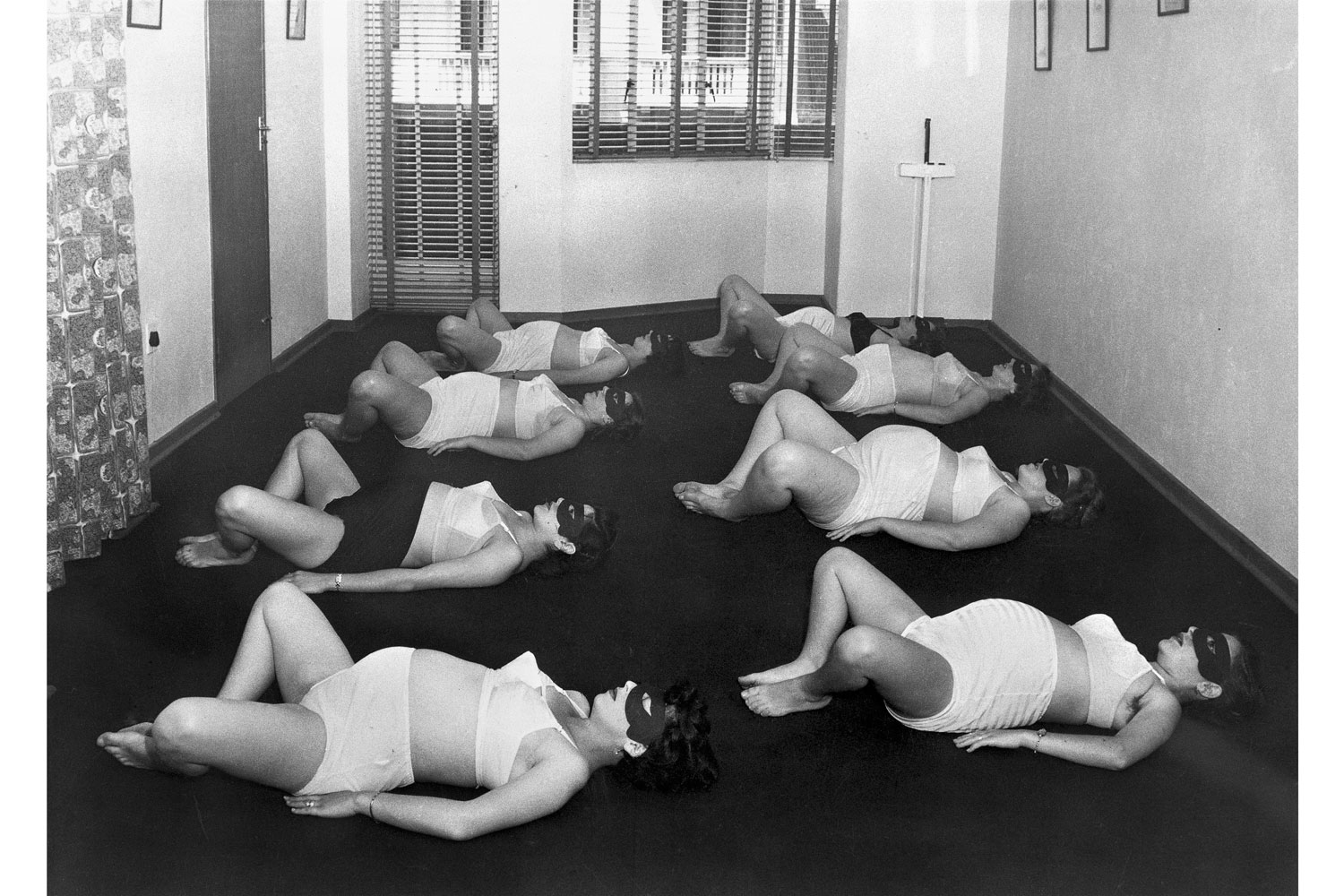 Exhibition.  Motherlode.  The Photographer's Gallery, London, England. On view until January 15, 2014. Pictured: Women in ante-natal classes exercising by Grantly Dick-Read, 1955.