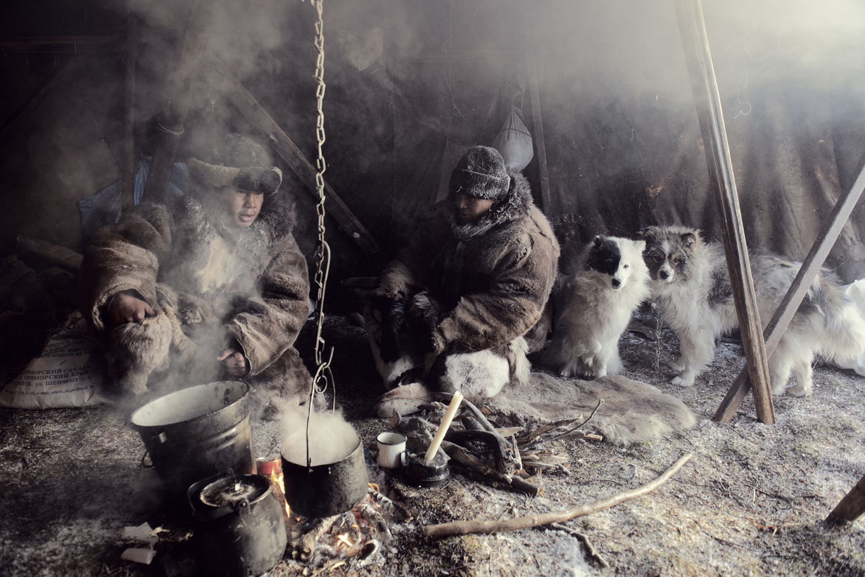 Maxim Etgeut & Zhenya Eyneutegin, Second Brigade                               Chukotka, February 2012