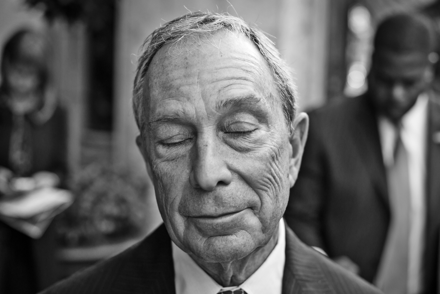 Michael Bloomberg. From  Bloomberg Unbound,  Oct. 21, 2013 issue.