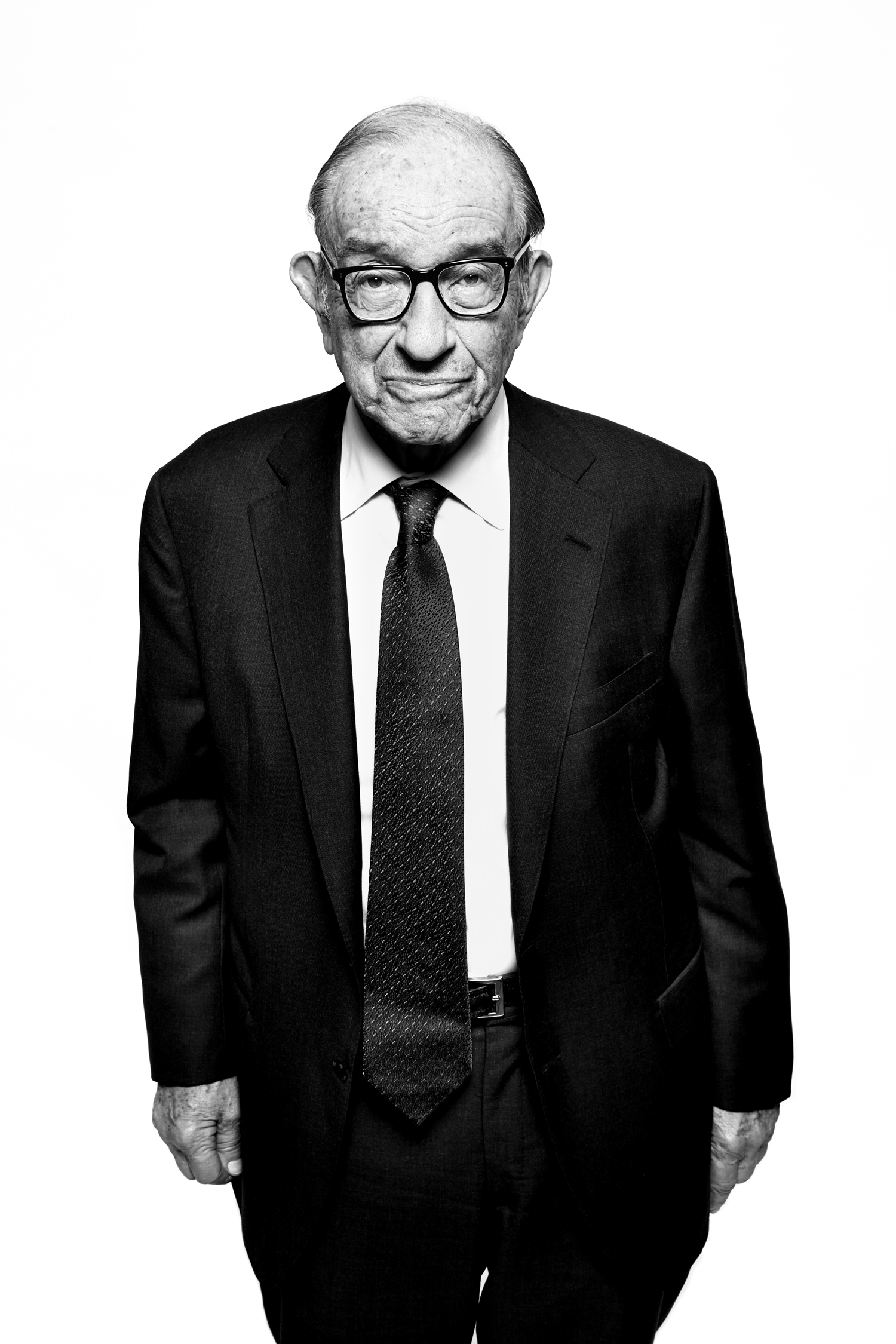 Alan Greenspan. From  10 Questions,  Nov. 4, 2013 issue.