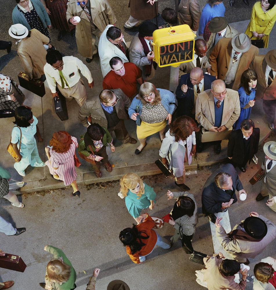 Crowd #11 (Cedar and Broad Street), 2013