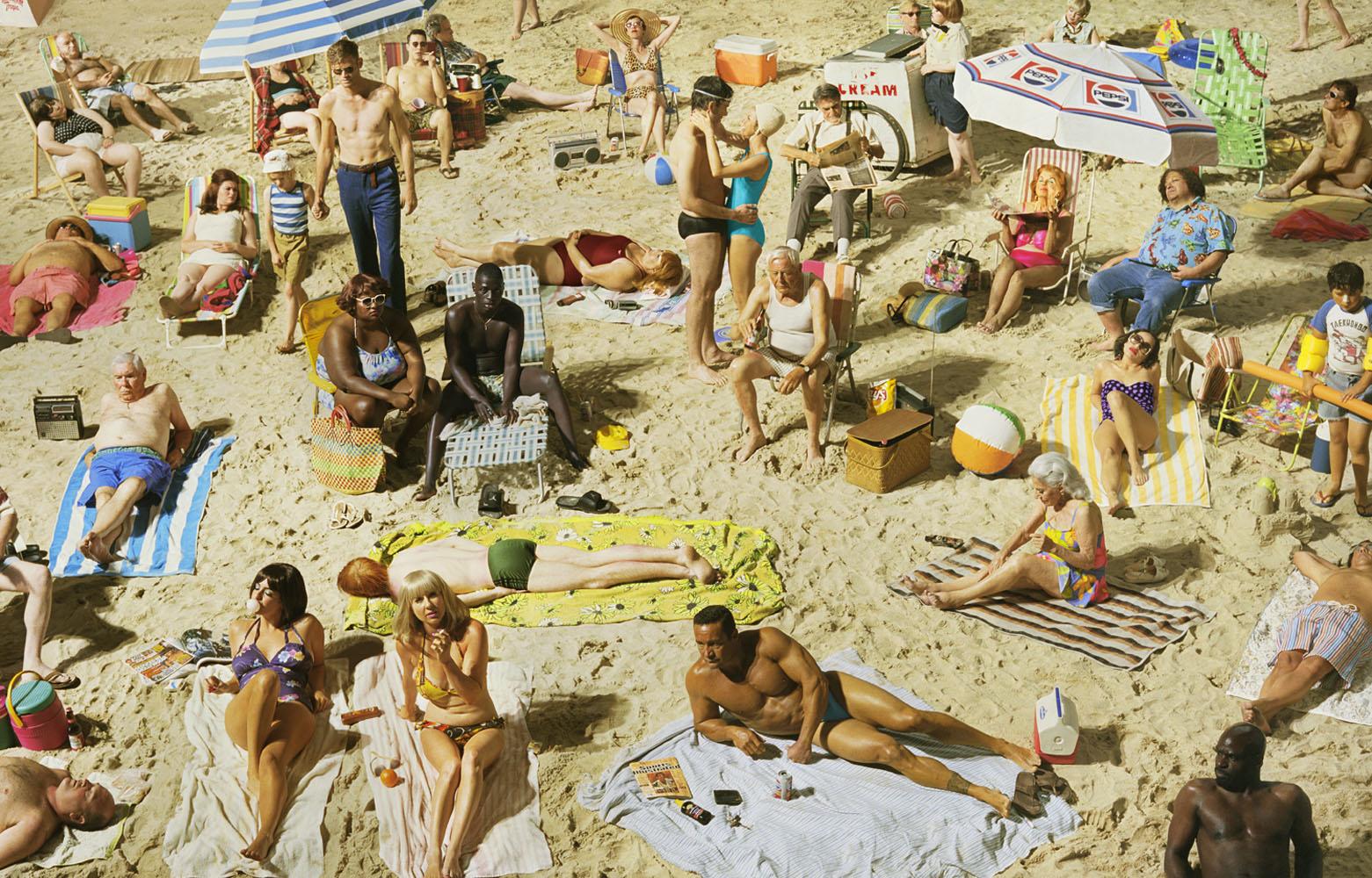 Crowd #3 (Pelican Beach), 2013