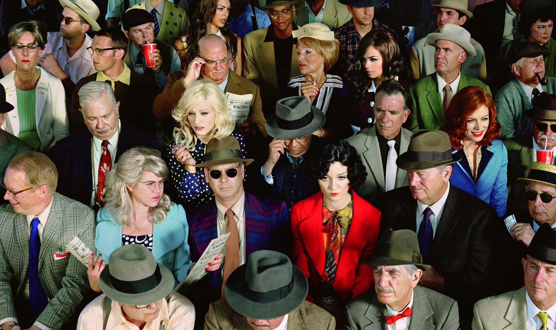 Crowd #1 (Stan Douglas), 2010