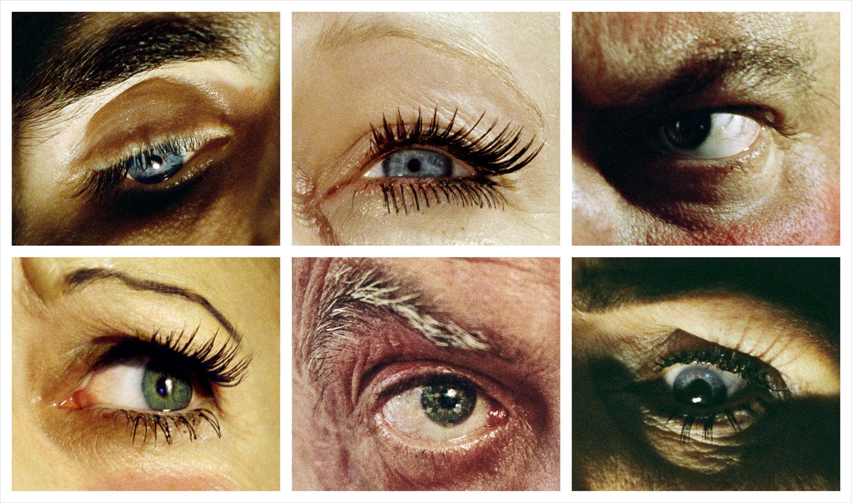 Eye Grid,  from Compulsion, 2012