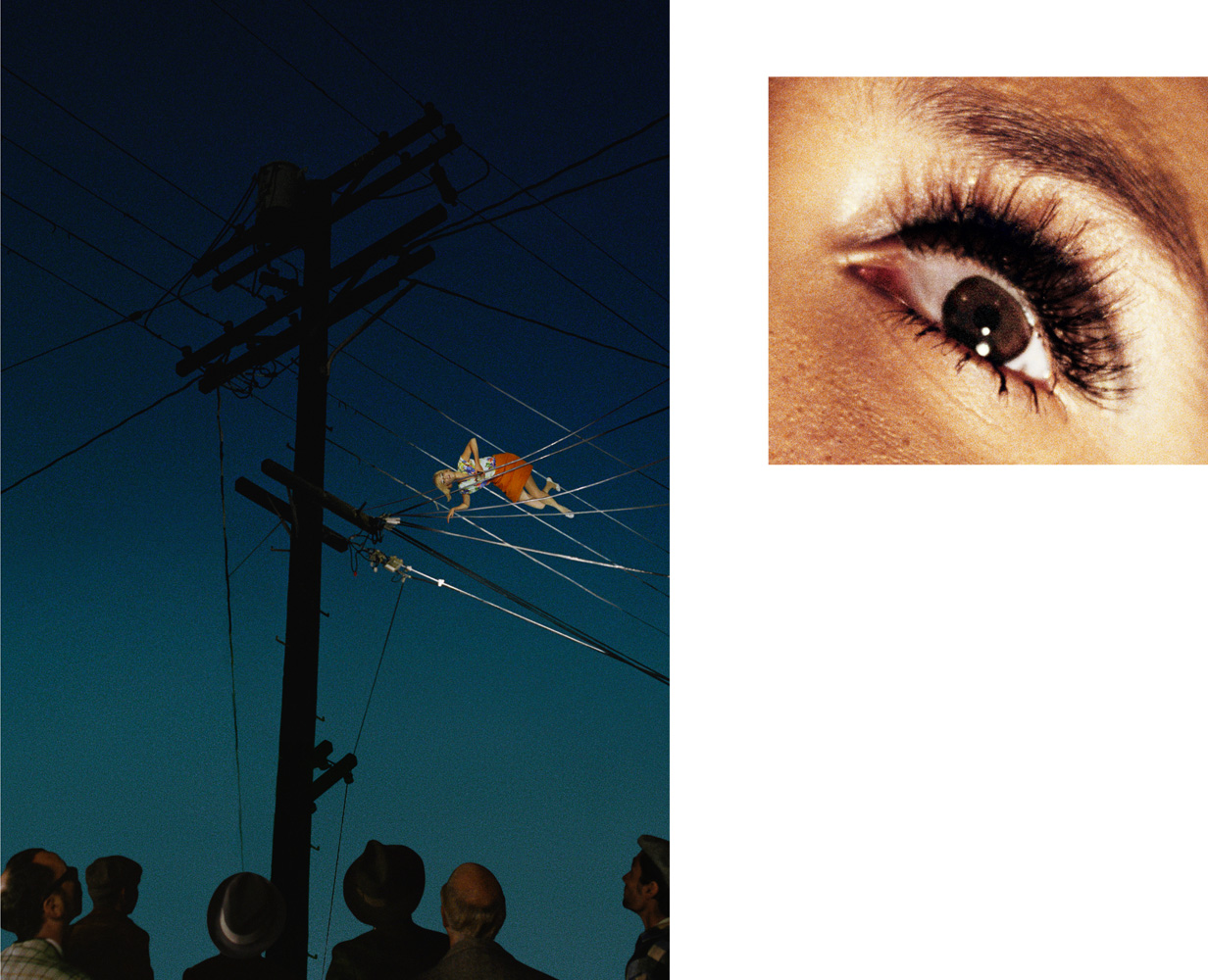 7:12 pm, Redcliff Ave and Eye #10 (Telephone Wires), 2012