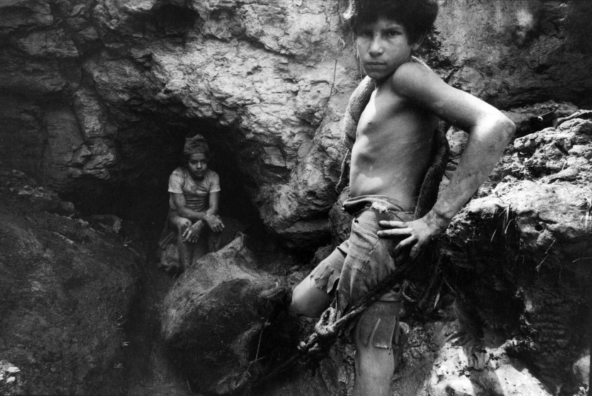 The exploitation of children in coal mines in Colombia, on Oct. 1, 1979.