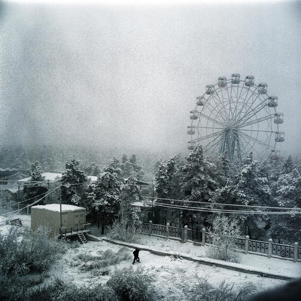 Jan. 15, 2013. A scene in Yakutsk, Siberia, the coldest city in the world.