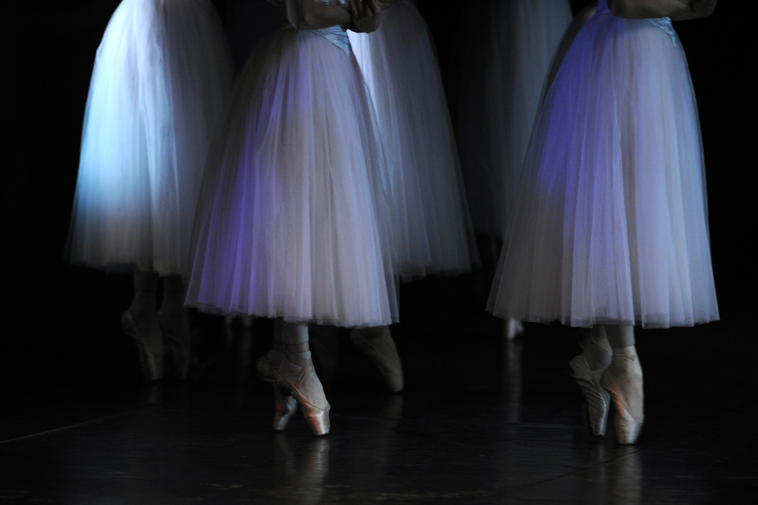 Jan. 8, 2013. Classical dancers of the Latvian National Ballet perform during a dress rehearsal of 'Giselle' at the Teatro de la Maestranza in Seville.