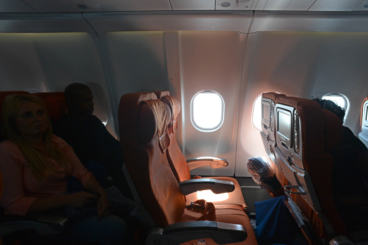 June 24, 2013. A picture taken in Moscow Sheremetyevo airport aboard a plane of Aeroflot flight from Moscow to Havana shows the empty window seat 17A, which fugitive U.S. intelligence leaker Edward Snowden was scheduled to occupy according to Aeroflot's flight records.