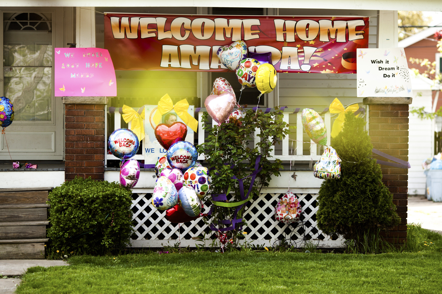 May 7, 2013. The home of Beth Serrano, the sister of Amanda Berry, one of three women who disappeared about a decade ago who were found alive in the home of Ariel Castro in Cleveland, Ohio.