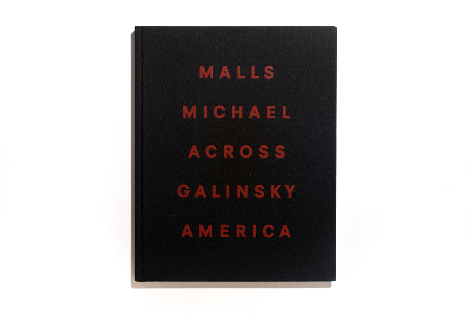Malls Across America by Michael Galinsky, published by Steidl, selected by David Strettell, founder and owner of Dashwood Books.