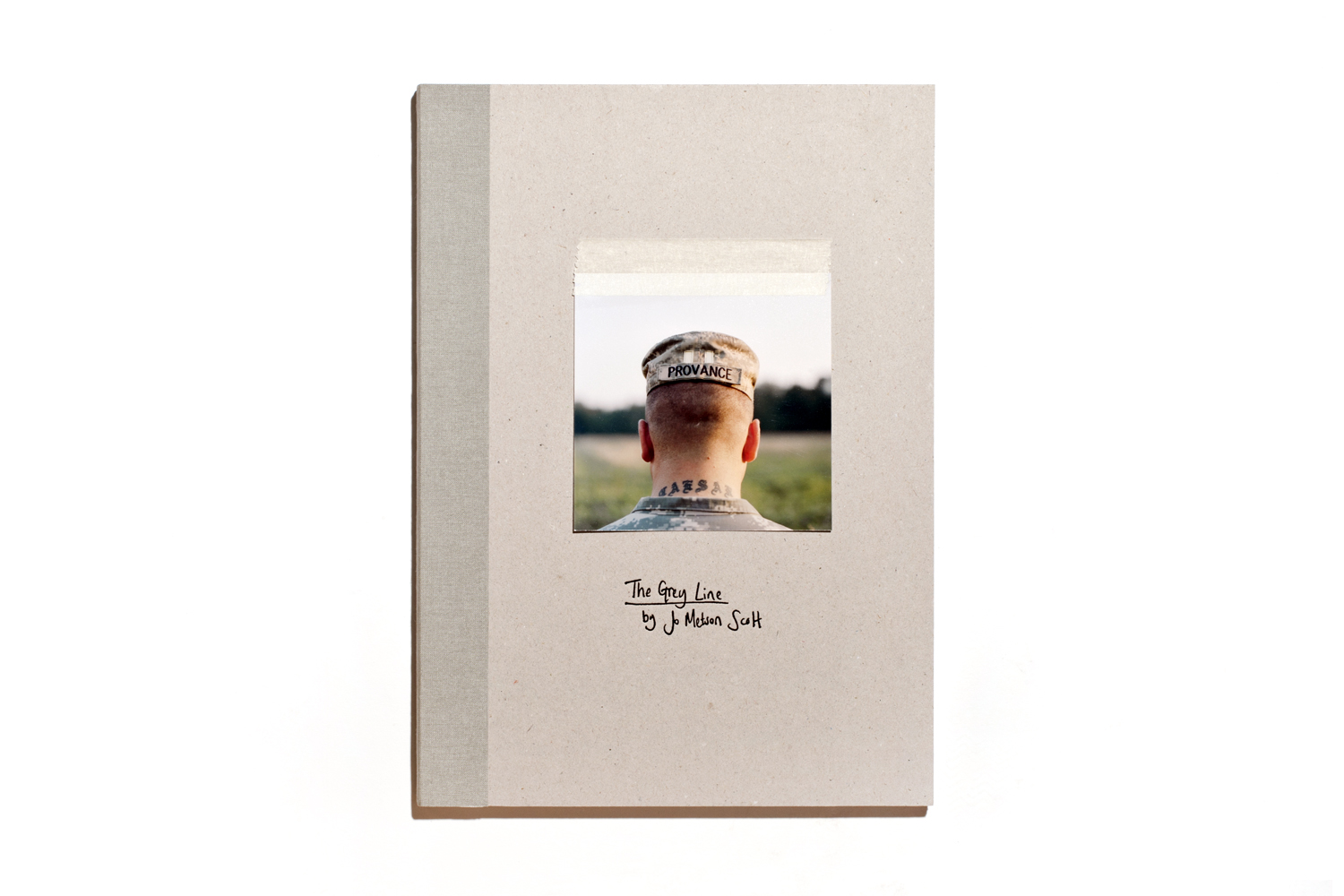 The Grey Line by Jo Metson Scott, published by Dewi Lewis, selected by Karan McQuaid, curator, The Photographers' Gallery, London.