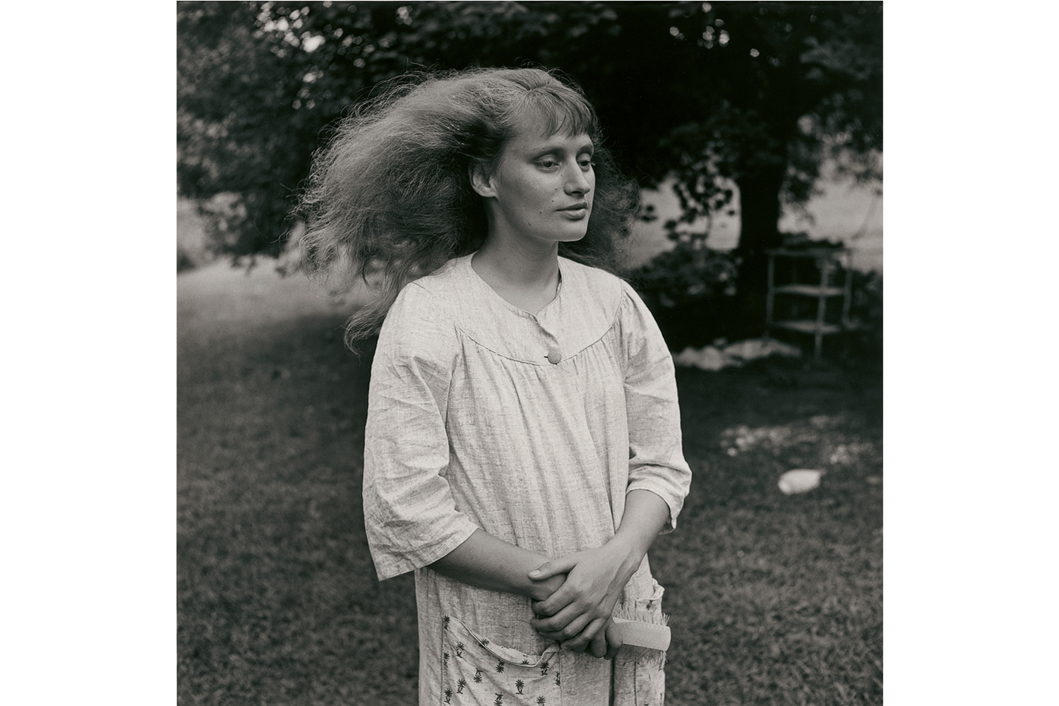 Pictured: Ruth, Danville, Virginia, 1968.                                A beautiful and long awaited monograph of quiet and intimate influence from a master photographer and teacher Emmet Gowin—whose writing is as eloquent and profound as his images are beautiful and sincere. —Phil Bicker, senior photo editor, TIME.                                                               There are things in your life that only you will see, stories that only you will hear. If you don't write them down, if you don't make the picture, these things will not be seen, these things will not be heard. —Emmett Gowin