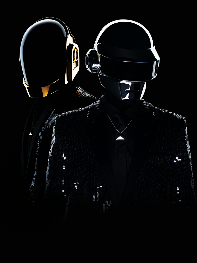 Daft Punk. From  Robots, Rebooted,  May 27, 2013 issue.