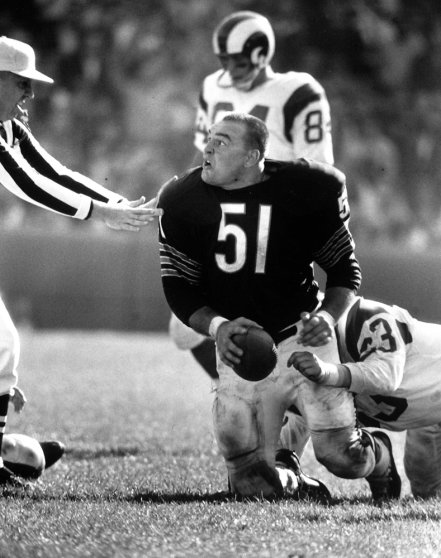 Dick Butkus, 1965 Photos Of The Baddest Rookie The Nfl -5303