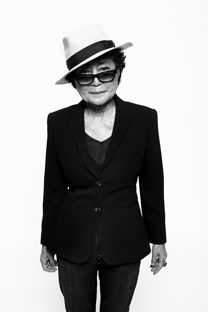 Yoko Ono. From  10 Questions,  Sept. 16, 2013 issue.