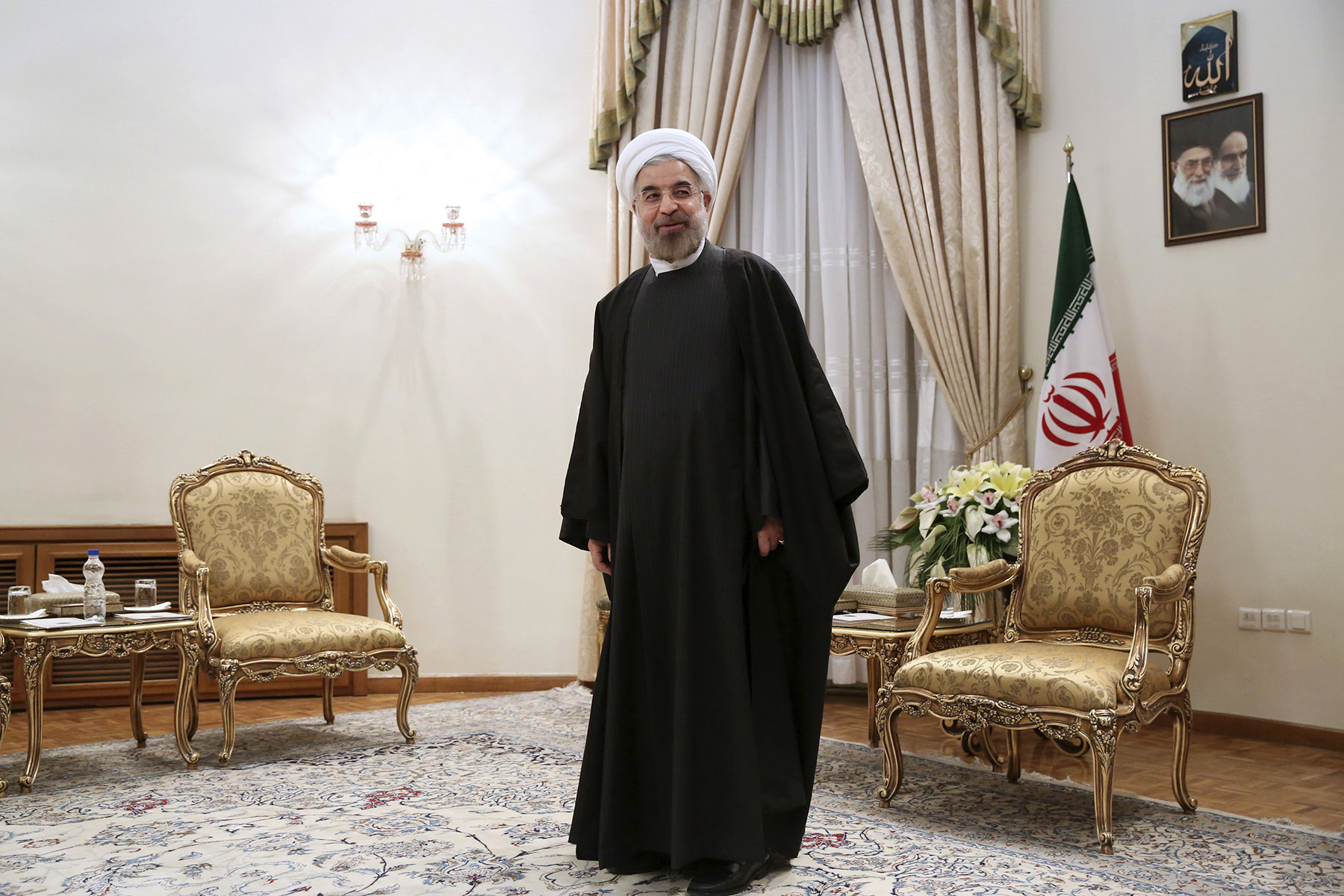 President Rouhani holds the key to Iran's economic revival.