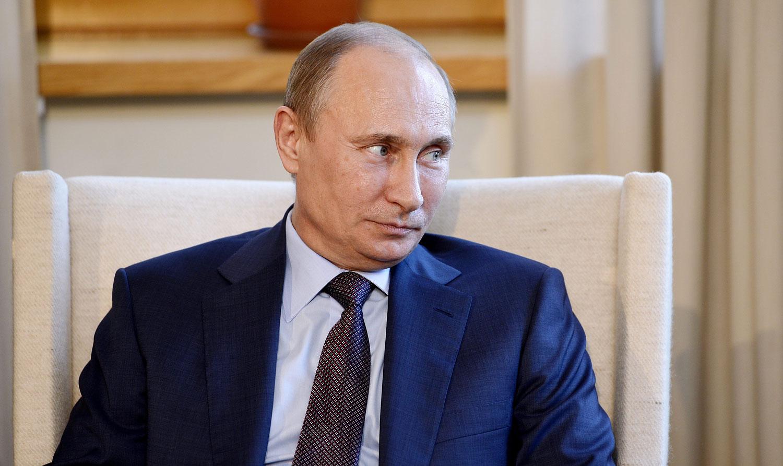 Russian President Vladimir Putin visiting Finland on June 25, 2013