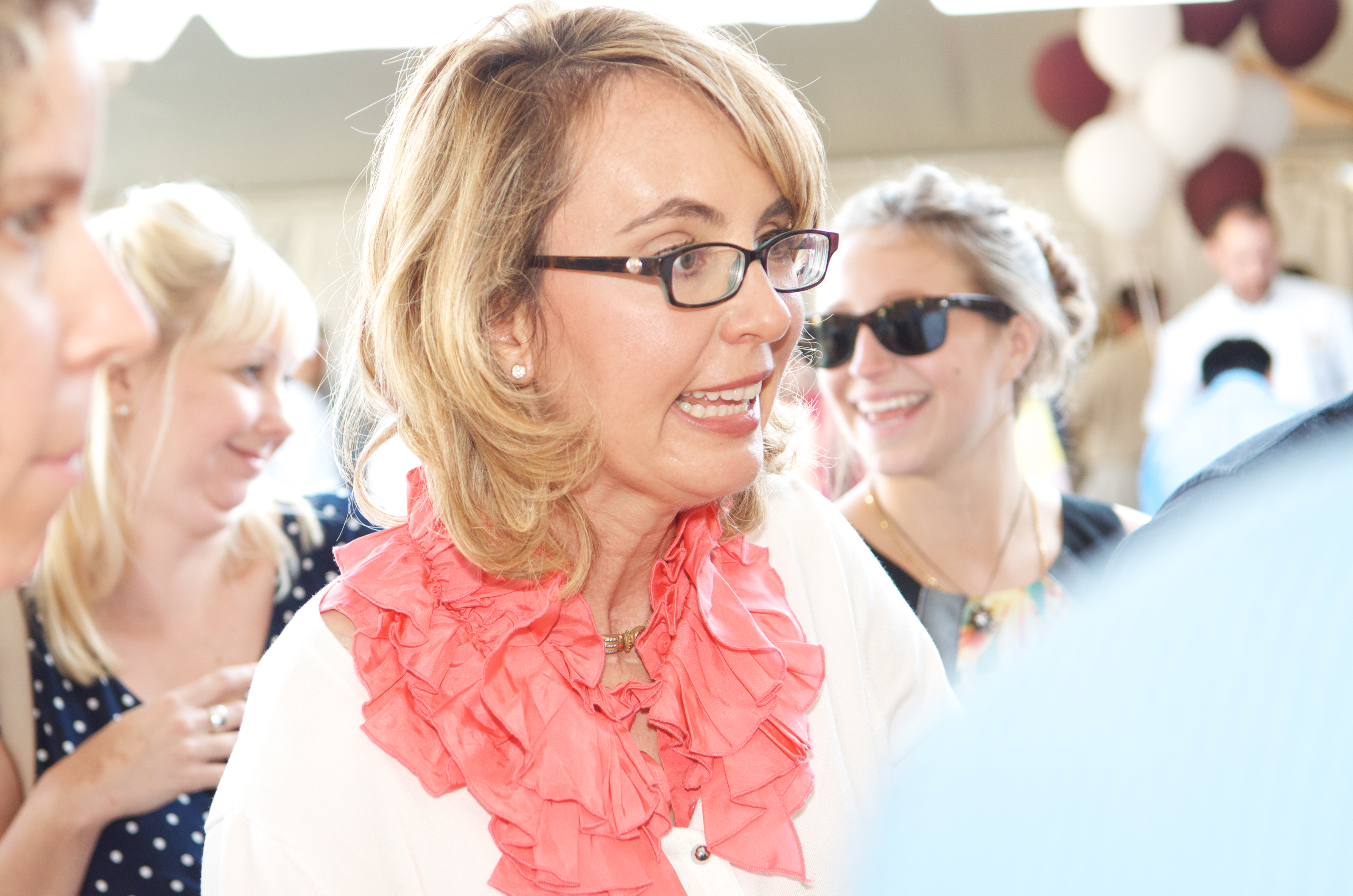 Gabrielle Giffords attends 9th Annual Authors Night at The East Hampton Library on Aug. 10, 2013 in East Hampton, New York.