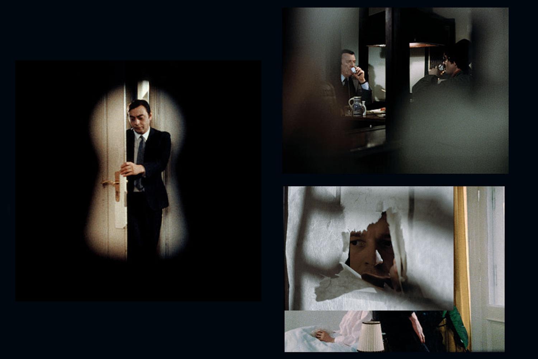 Film stills, from left: Satan's Brew (1975/76), The Third Generation (1978/79)