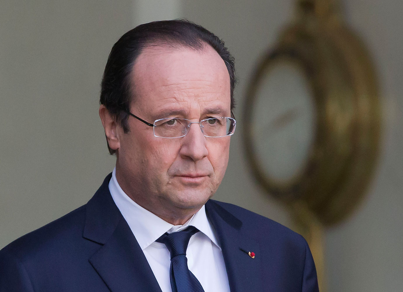 French President François Hollande at the Élysée Palace in Paris on Jan. 16, 2014.