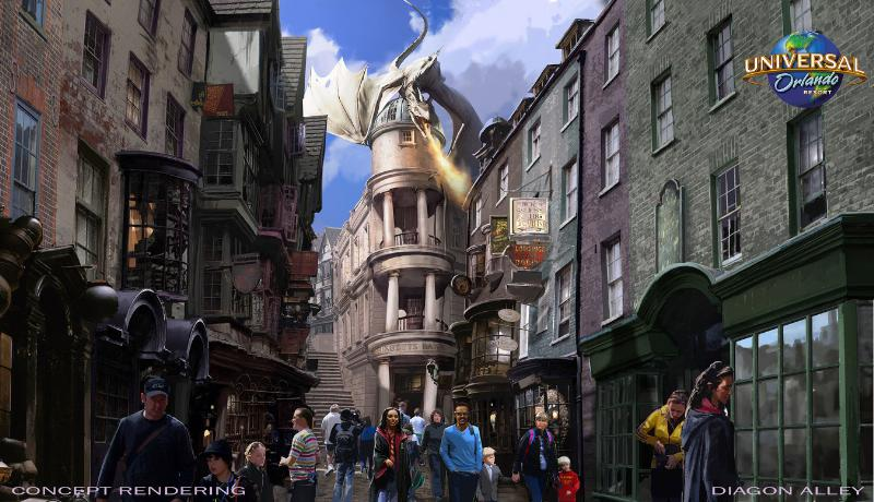 Harry Potter Theme Park Wizarding World At Universal Studios New Pics Time