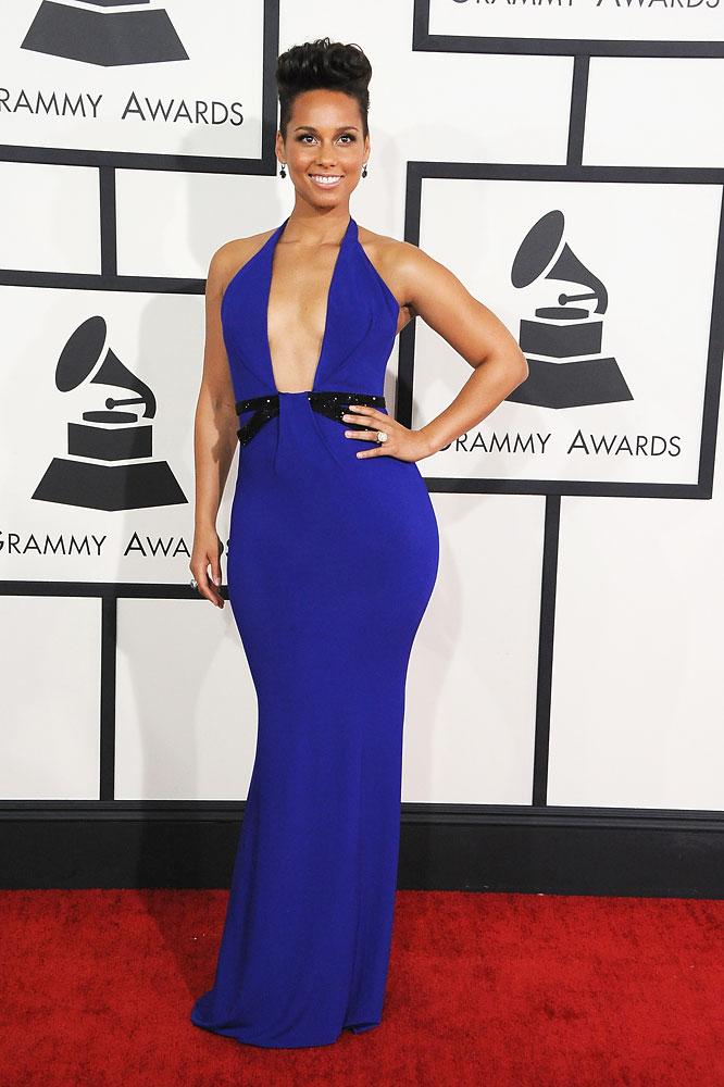 Best Low Cut Dress - Alicia Keys