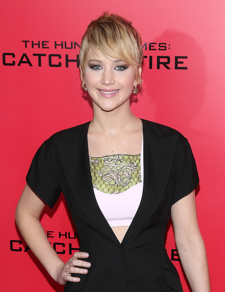 As the latest actress to shed her locks, Lawrence went pixie in November.