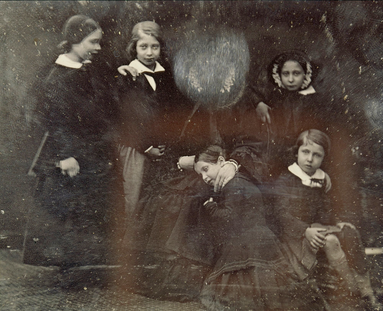 Queen Victoria, the Princess Royal, the Prince of Wales, Princess Alice, Princess Helena, Prince Alfred, January 17, 1852