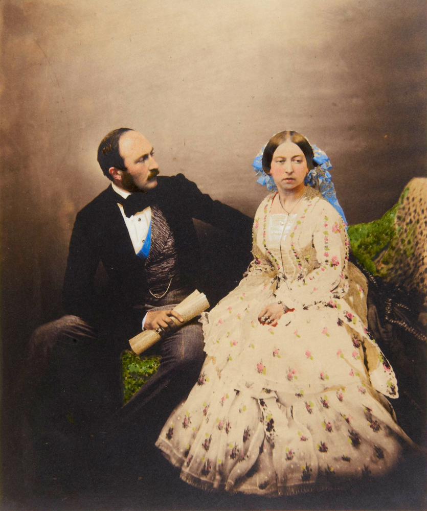 The Prince and the Queen, 1854