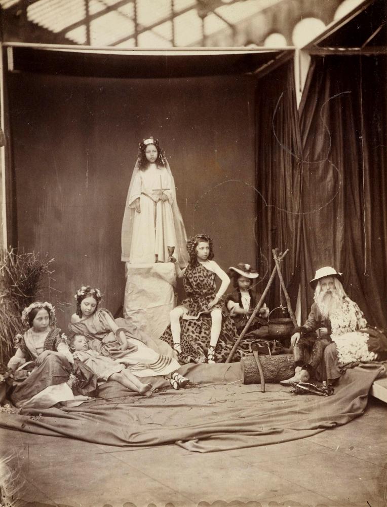 Royal Children Tableux, 1854