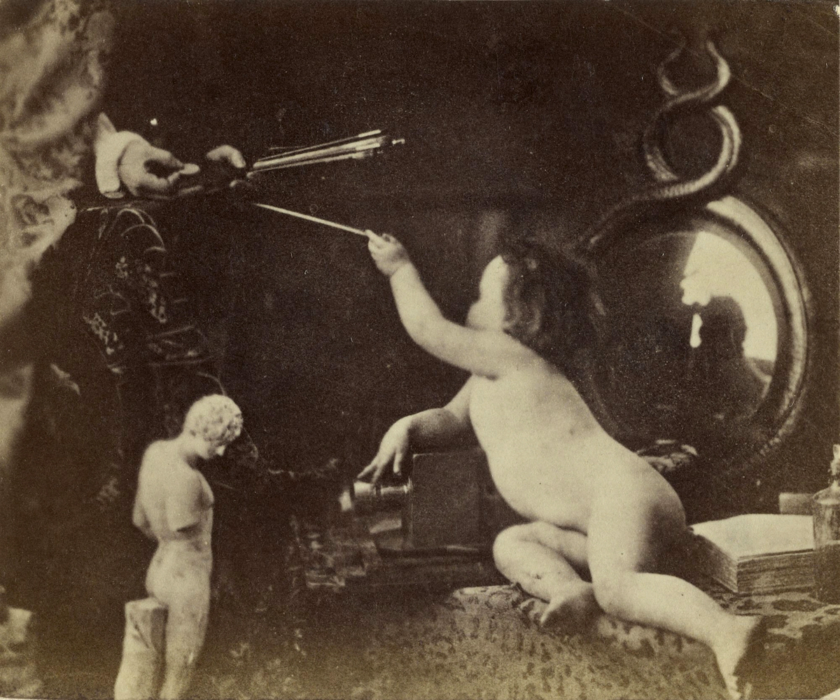 The Infant Photography Giving the Painter an Additional Brush, c. 1856