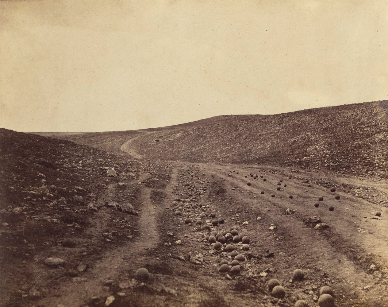 Valley of the Shadow of Death, April 23, 1855