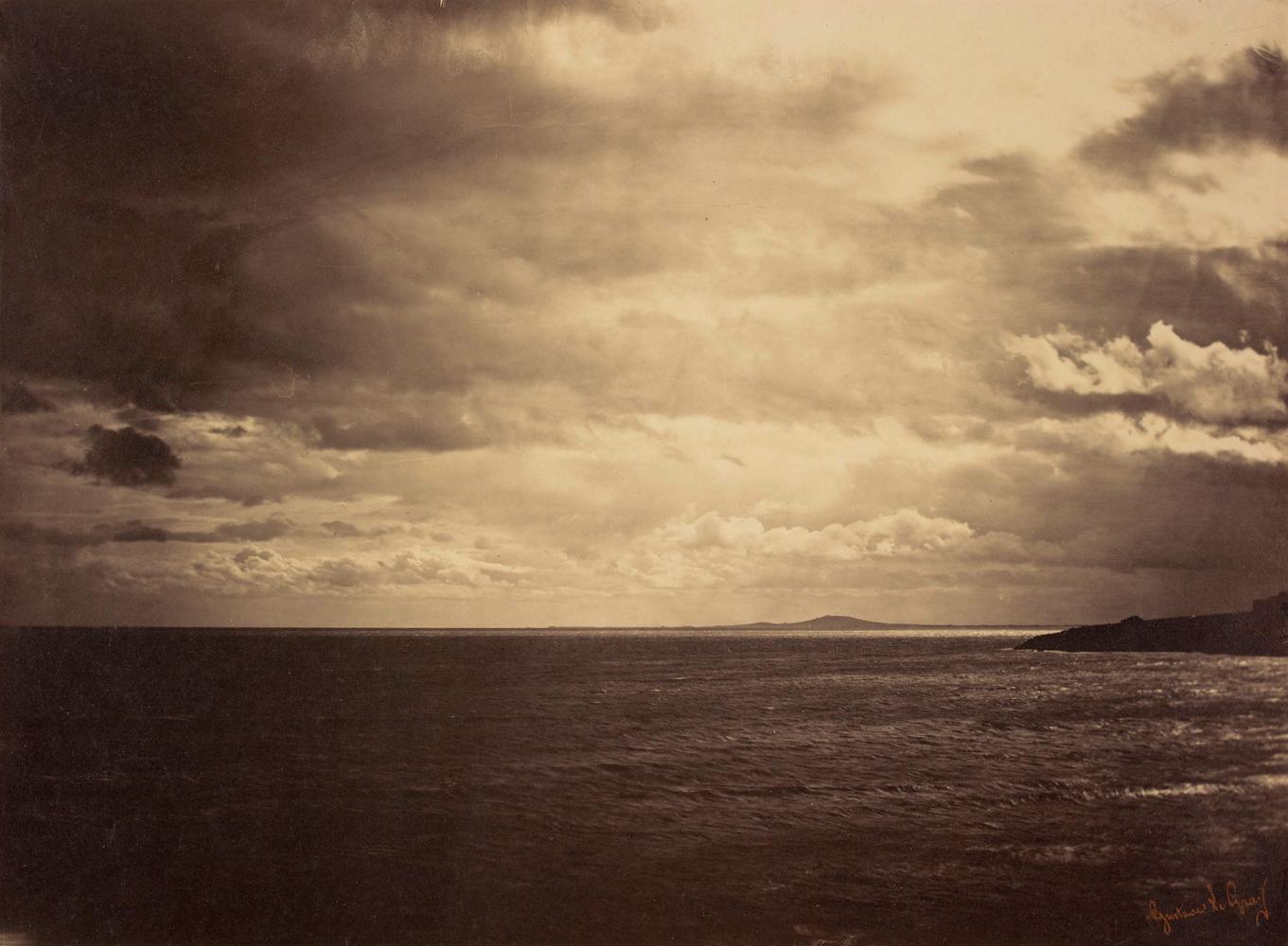 Cloudy Sky - Mediterranean Sea, 1857