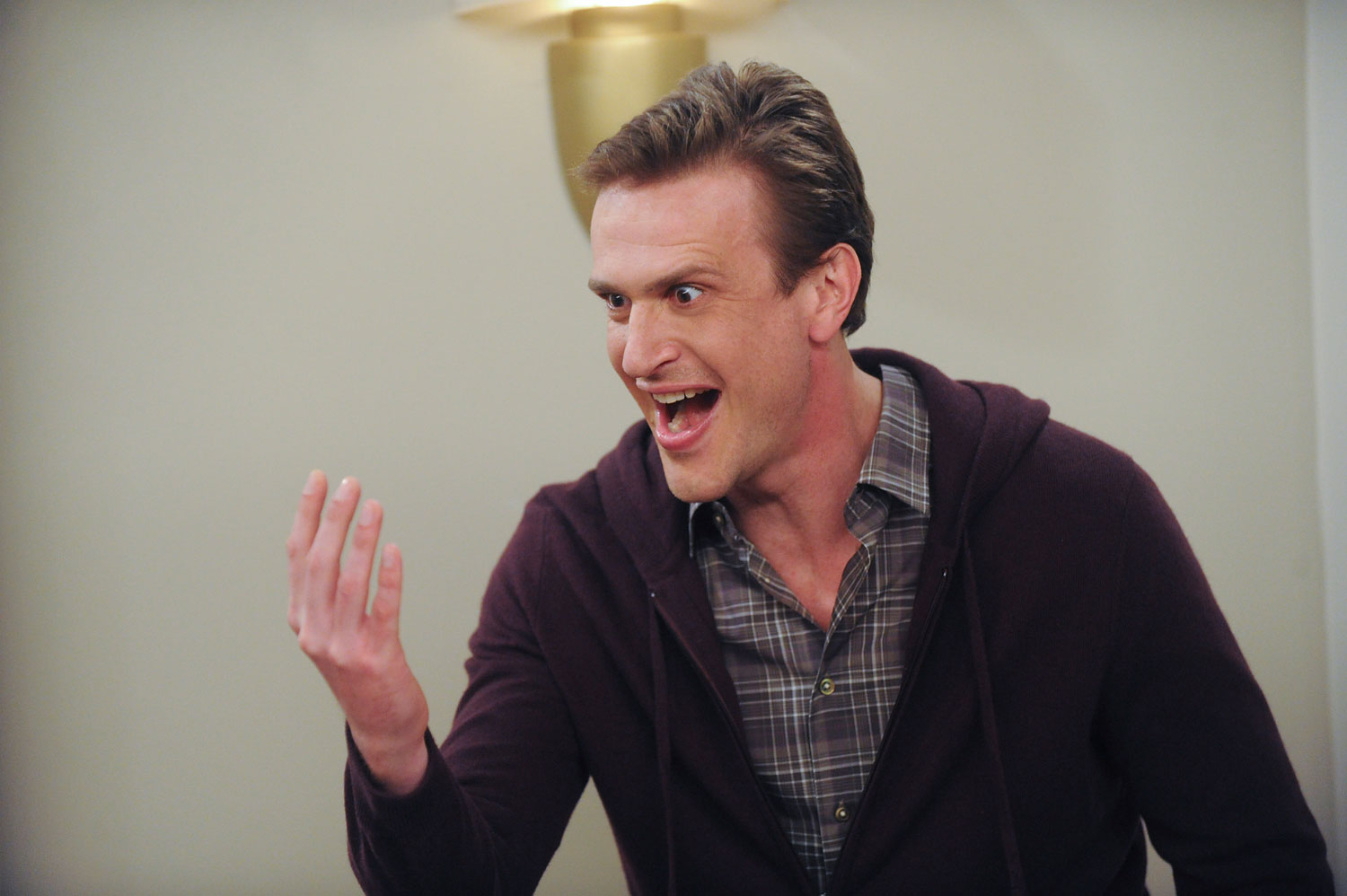 Jason Segel as Marshall in the  Slappointment in Slapmarra  episode of How I Met Your Mother.
