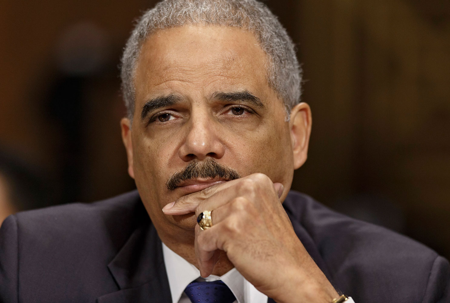 Attorney General Eric Holder testifying on Capitol Hill in Washington, Jan. 29, 2014.