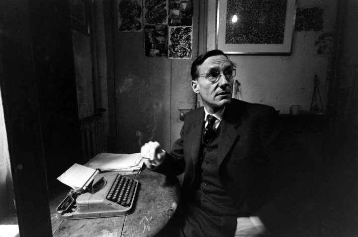 William S. Burroughs on Saturday Night Live, 1981   Open
