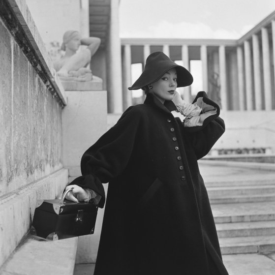 Paris fashion by Hubert de Givenchy by LIFE Photographer Nat Farbman