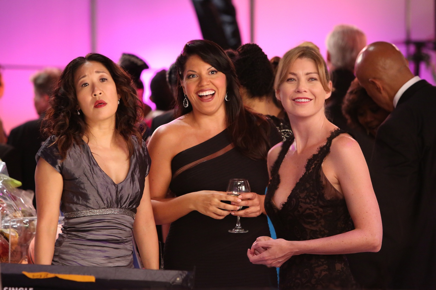 Sandra Oh, Sara Ramirez and Ellen Pompeo on 'Grey's Anatomy': the exception to the rule